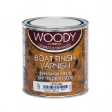 woody boat finish